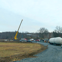 Delivery of our new twins: 68 feet long, 35 tons each... parents are very excited!​