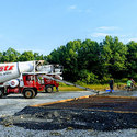 Pouring cement for truckport 7/17/2017