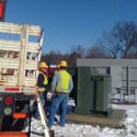 January 26th 2017: Transformer set by Central Hudson today